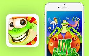 Leap Frogger- Nimap Infotech