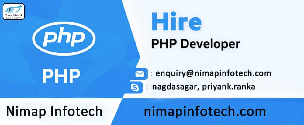 Hire PHP Developers - Nimap Infotech