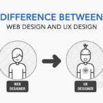 Difference between Web design and UX design
