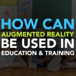 How can augmented reality be used in Education and Training